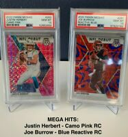 Justin Herbert + Zion Williamson RC PSA 10 MYSTERY PACK!! MUST READ DESCRIPTION!