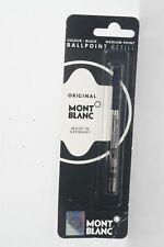 100% ORIGINAL MONT BLANC Ballpoint Refills Medium Point Black Ink #15150 1PK