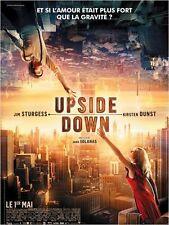 Affiche 40x60cm UPSIDE DOWN (2013) Kirsten Dunst, Jim Sturgess NEUVE