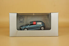 1:43 China SVW Volkswagen GOL diecast model blue color