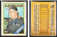 Charlie Kerfeld Signed 1988 Topps #608 Card Houston Astros Auto Autograph