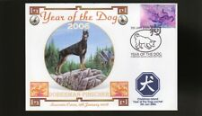 DOBERMAN PINSCHER 2006 C/I YEAR OF THE DOG STAMP COVER