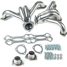 Stainless Hugger Headers Fit Chevy Small Block Sb V8 262 265 283 305 327 350 400