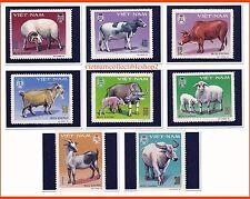 Vietnam -  Horned Cattle in Vietnam Farms / Domestic Animal/  1979 #349  MNH