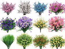 4pcs Artificial Flowers Fake Plant Faux Floral Greenery Shrubs Calla Home Decor