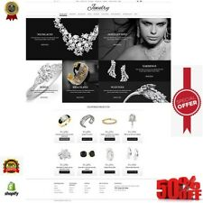 Top Shopify store dropshipping jewelry website With premium theme