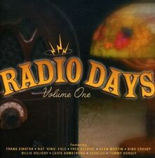 CD RADIO DAYS VOL. 1 SINATRA GERALDO ASTAIRE CROSBY ARMSTRONG HOLIDAY COLE ETC