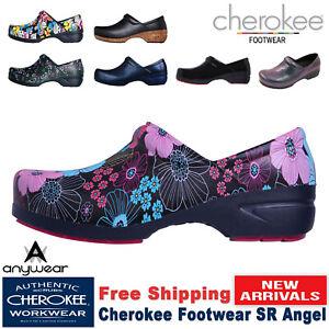 Cherokee Women's Nursing Shoe New SR ANGEL Workwear Closed Back Plastic Clog