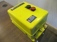 Telemecanique Enclosed Starter Le1d123f0705 110 120v Coil Type 4x Enclosure Used