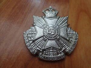 Classique Bordure Cumberland Regiment - Armée Britannique Broche Casquette Badge