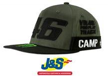 VR46 Camp Sponsor Casquette Valentino Rossi Homme Baseball Chapeau Taille Unique le médecin j&s