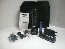 Xtar D06 Led Diving flaslight KIT- Charger, 18650 Battery, Car Charger INCLUDED