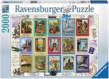 RAVENSBURGER PUZZLE*2000 TEILE*VACATION STAMPS*BRIEFMARKEN*RARITÄT*NEU+OVP
