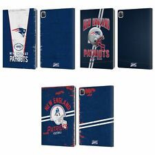 OFFICIAL NFL NEW ENGLAND PATRIOTS LOGO ART LEATHER BOOK CASE FOR APPLE iPAD
