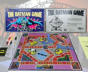 The Batman Game Vintage 1989 Board Game 50th Anniversary Edition 100% GITD