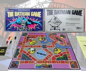 The Batman Game Vintage 1989 Board Game 50th Anniversary Edition 100% GITD