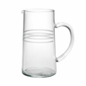 NEW Reed and Barton Pierson Glass Pitcher