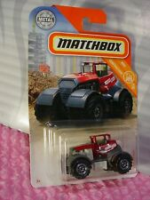 2018 Matchbox #49 DIRTSTROYER☆red;TREVINO FARMS☆MBX CONSTRUCTION☆☆case H/J