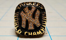 New York Yankees 1977 replica World Series Championship Ring Free Game Used Gift