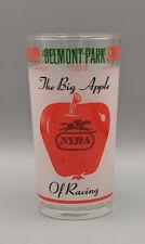 1976 Belmont Stakes Glass, Aqueduct, Saratoga, Horse Racing, Triple Crown  NYRA