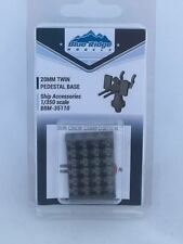 1/350 Blue Ridge Models -  20mm Twin Oerlikon Pedestal Base (x24) - 3D Printed
