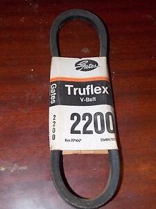 NOS Gates Truflex V Belt Made In USA Bolens Hogg JLG Homelite Mclane Reo 2200