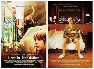 Lost In Translation (2003) Set of 2 Movie Posters, Original, SS, NM, Rolled