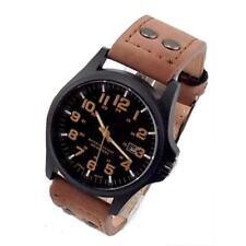 Mode Sport 2017 Montres pour homme cuir militaire bracelet montre à quartz B 3·