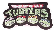 "Teenage Mutant Ninja Turtles 4.5"" Cartoon Logo Patch-FREE S&H(TMNTPA-03)"