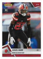 2018 Panini Instant NFL All-Rookie Team Denzel Ward Rookie Card - 1 of 576