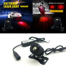 Car 6 IN 1 Red LED 8V-36V Waterproof Red LED Laser Fog Warning Lamp Tail Light