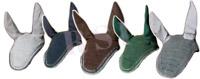 Horse Earnet Crochet Fly Veil Equestrian Fly Bonnet/veil/Fly mask Silver Edges