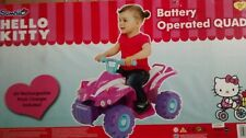 Brand New in Box Hello Kitty Battery Operated Quad Bike