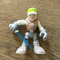 "2014 2.5"" Hasbro Imaginext Star Wars Luke Skywalker Figure"