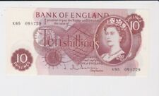 BANK OF ENGLAND 10/- TEN SHILLINGS BANKNOTE SUPERB CONDITION HALLOM