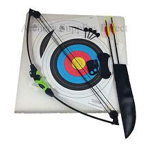 Kids Archery Game Wildcat Kids Compound Bow and Arrow Set, Target & 4 Arrow