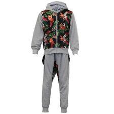 Vêtements gris à motif Floral pour fille de 2 à 16 ans
