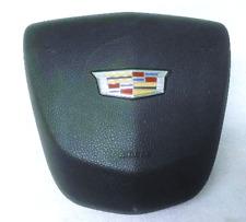 2014 2015 2016 Cadillac ATS CTS Left Driver Steering Wheel Airbag Black 2 Plug