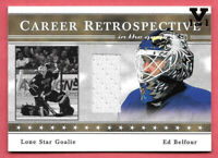 2015-16 Ed Belfour ITG Final Vault 2003-04 Game-Used Jersey 1/1 - Dallas Stars