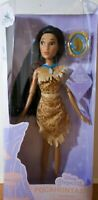 """Disney Store Princess Pocahontas Classic Doll With Pendant. New In Box 12"""""""