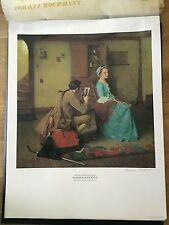 vtg Norman Rockwell signed Prints Limited edition Americana eyvind disney gift