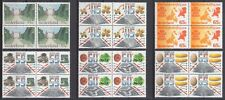 kavel blokjes van 4 zegels 1981 (2) postfris (MNH)