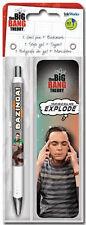 BIG BANG THEORY - GEL PEN & BOOKMARK - BRAND NEW SHELDON BAZINGA 3521