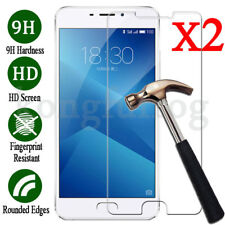 2Pcs 9H Tempered Glass Film Screen Protector Cover For Meizu M5 M5Note M6 M6Note