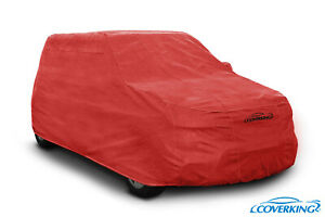 Coverking Red Triguard Tailored Car Cover for Smart Fortwo - Made to Order