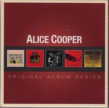 ALICE COOPER Original Album Series 5 CD Set Easy Action, Killer, School's Out