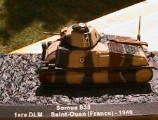 CHAR TANK BLINDE SOMUA S35 1ERE DLM FRANCE 1940 1/72 ALTAYA SAINT OUEN