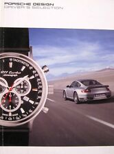 2007 Porsche Design Driver's Selection Catalog Brochure Watches Clothing r/c Car