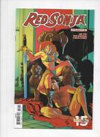 RED SONJA #25 B, NM-, She-Devil, Vol 4, Henderson, 2017 2018, more RS in store