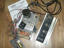 PROJECT Vintage Vox Essex Bass Amp CHassis + Power Supply all wiring